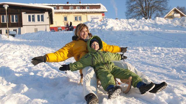 Aktivitäten mit oder ohne Schnee - Winterurlaub