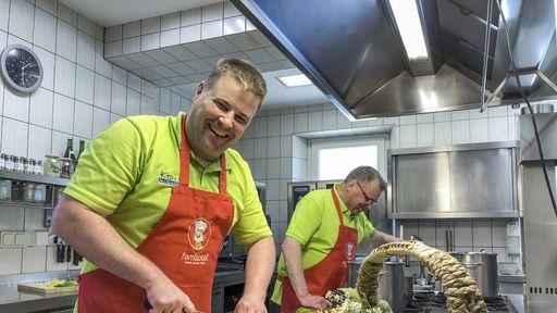 Küche im Familotel Mein Krug | Familotel Fichtelgebirge FamilienKlub Krug | Mein Krug | Hotel Krug