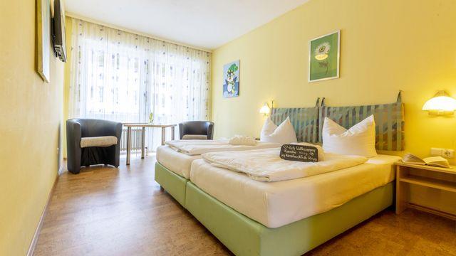 Doppelzimmer   25 qm