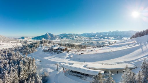 Der Allgäuer Berghof im Winter