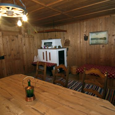 Stollenberghütte, Living room