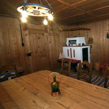 Stollenberghütte, Stube mit Kachelofen
