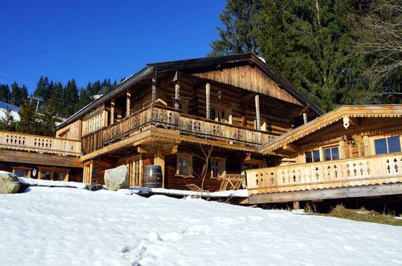 Winter, Chalet Alpenblick in Kitzbühel, Tirol, Tirol, Österreich