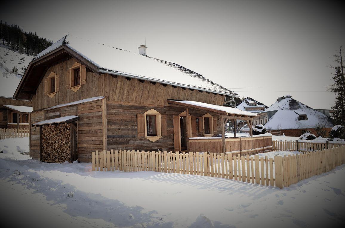 Almchalet am Katschberg, Winter