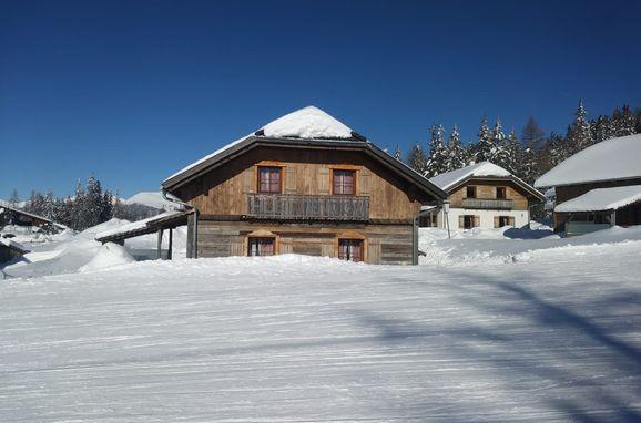Winter, Almchalet am Katschberg in Rennweg, Salzburg, Salzburg, Österreich