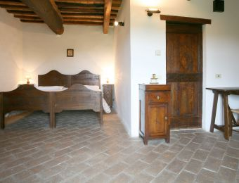 "Double Room ""Ulme"" - Bio-Agriturismo La Cerqua"