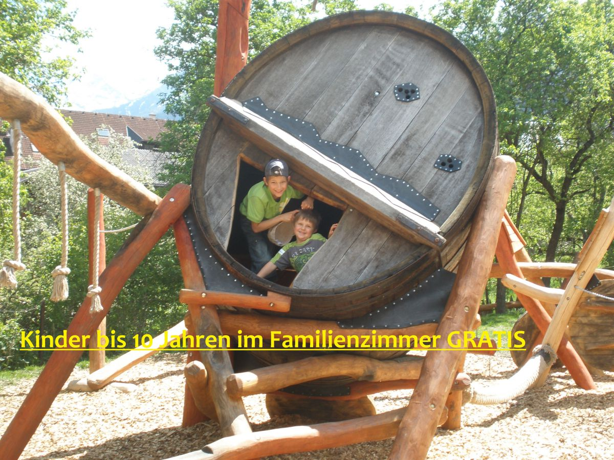 Herbstferien - Kinder unter 10 Jahren im Familienzimmer gratis