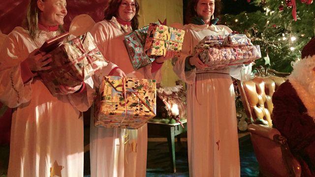 Familien Weihnacht im Zauberwald