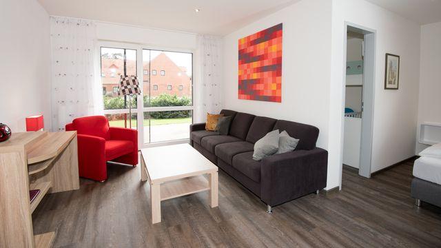 Familienappartement | 46 qm - 2-Raum