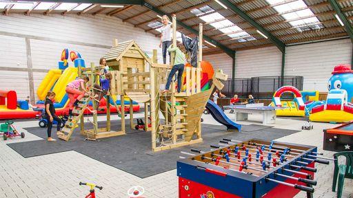 Auf 600 qm Kinderspielland wird es garantiert nie langweilig.