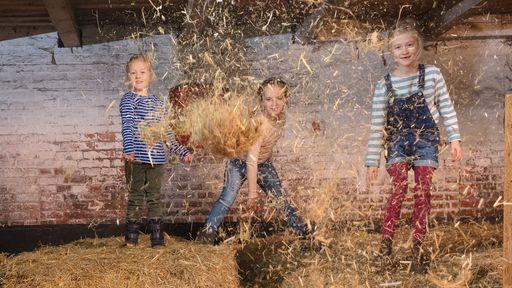 Urlaub auf dem Bauernhof für wahre Kindheitserinnerungen.