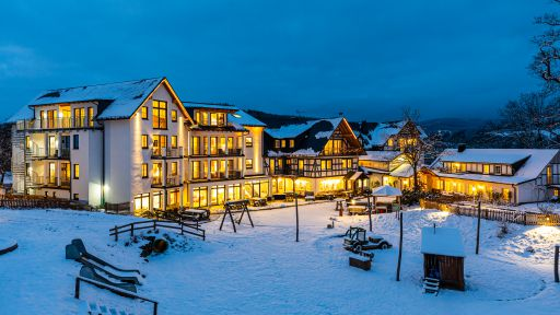 Familotel Ebbinghof im Wintertraum