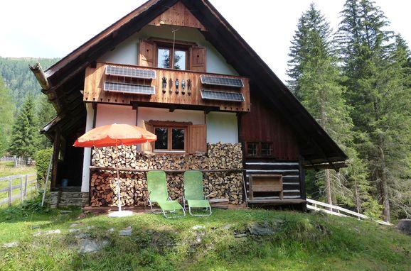 Sommer, Almhütte Schmölzer in Bad Kleinkirchheim, Kärnten, Kärnten, Österreich
