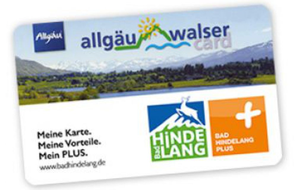 "Urlaubs-Spaß-Card ""Bad Hindelang PLUS"""