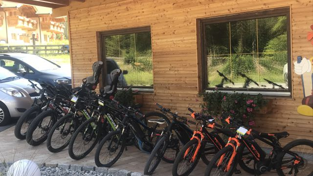 E-biken im Lärchenhof!