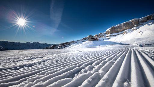Ein Paradies für Skifahrer und Snowboarder.