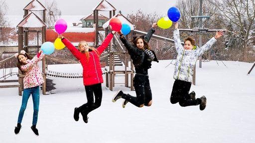 Bei uns wird der Familienurlaub im Winter ein richtiges Erlebnis.