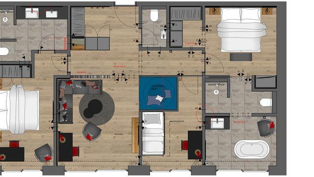 Luxus Suite | 95 m²