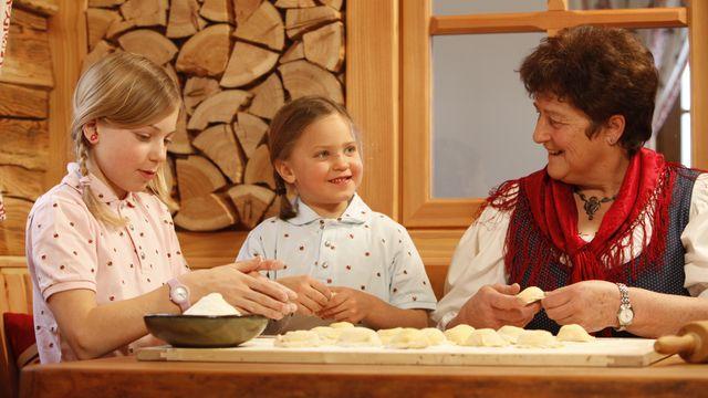 Großeltern-Enkelkinder Urlaub