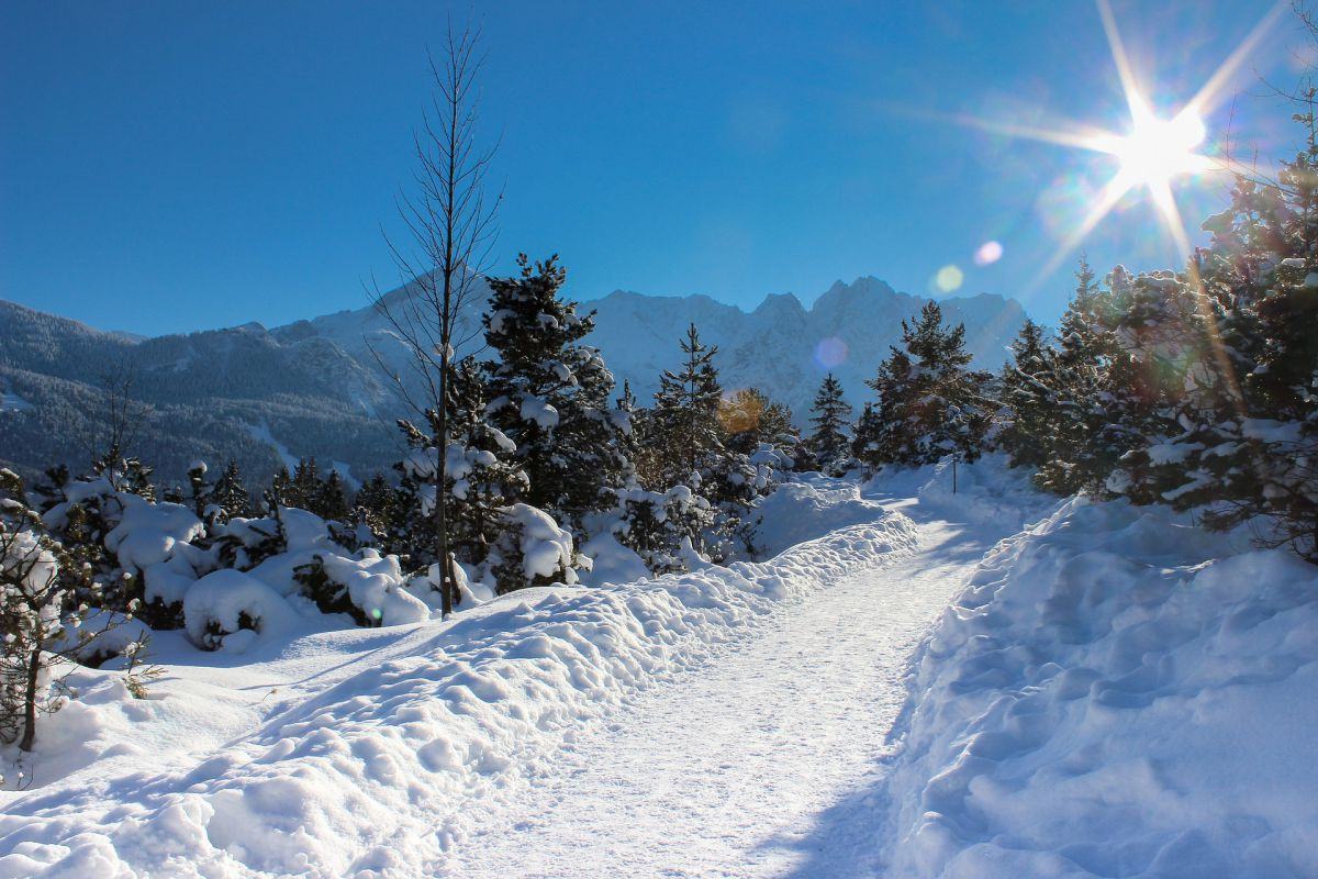 Weiße Winter Woche