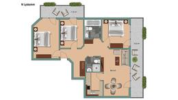 Apartments Apartment Lyskamm