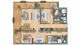 """apartements Appartement """"Lyskamm"""" Superior"""