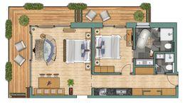 """Appartements Appartement """"Pollux"""" Komfort"""