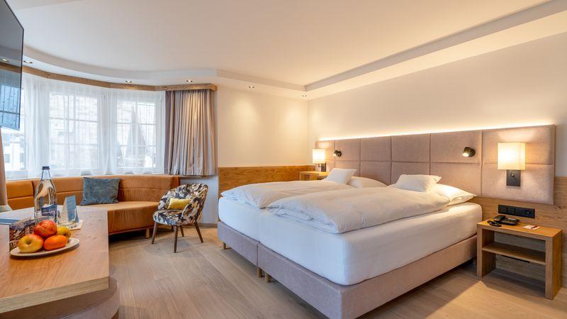 "chambres doubles Chambre avec Baie Vitrée ""Fletschhorn"""