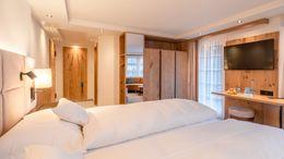 "chambres doubles Chambre avec Baie Vitrée ""Fletschhorn"" - 2 2/6"