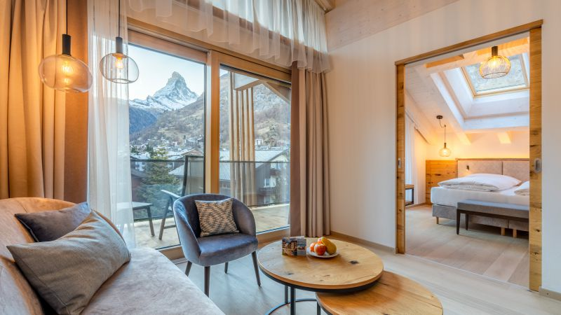 "apartments Apartment ""Zinalrothorn"" View"