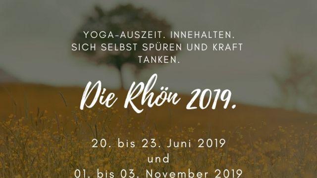 Yoga Auszeit in der Rhön