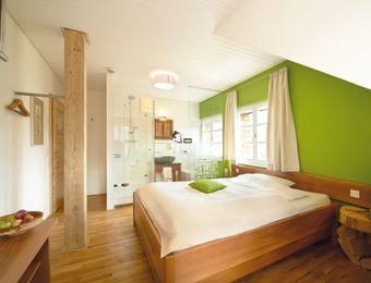 Doppelzimmer mit integriertem Bad - LindenGut