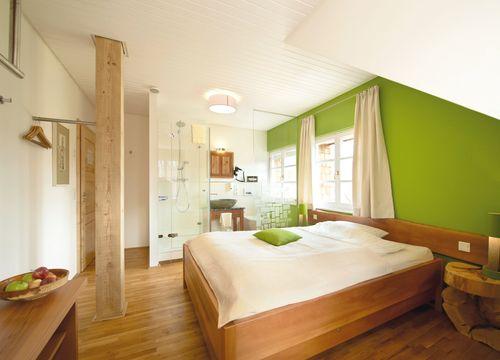biohotel lindengut doppelzimmer mit bad (1/1) - LindenGut