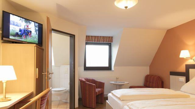 Doppelzimmer | 15 qm - 1-Raum