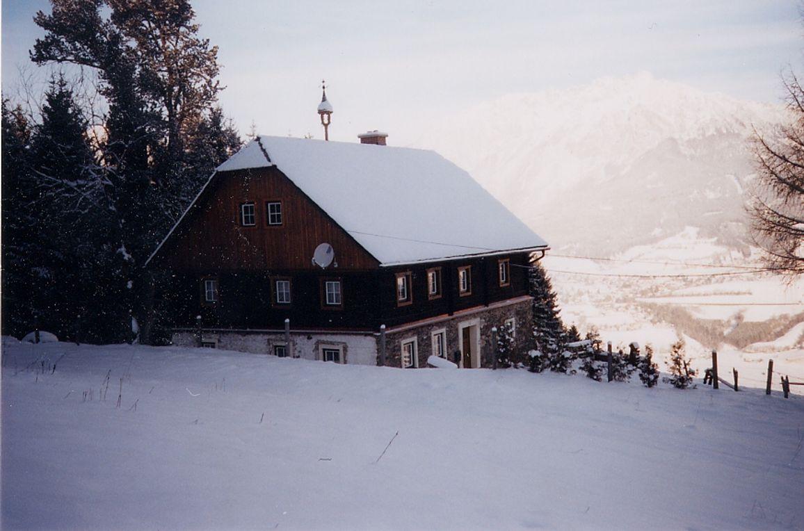 Ferienalm Grojerhof, Winter