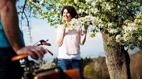 E-Biken im Blütenzauber