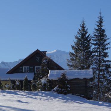Winter, Jagdhütte Hohe Tauern, Rauris, Salzburg, Salzburg, Österreich