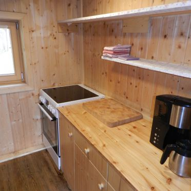 Ranahütte, Küche
