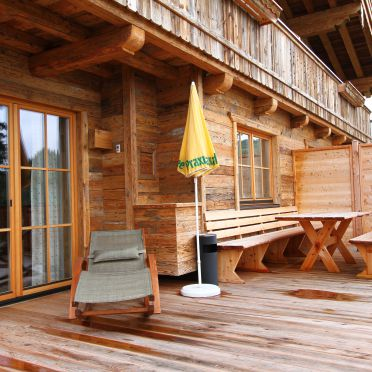Terrace, Chalet Brechhorn Premium in Westendorf, Tirol, Tyrol, Austria