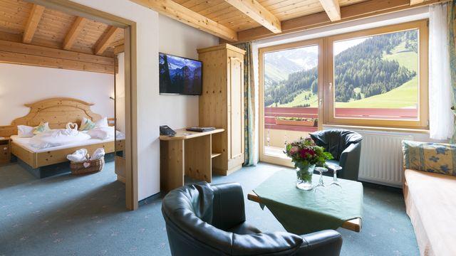 "Alpen-Suite ""groß"" | 58 qm - 3-Raum"