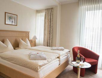 Doppelzimmer mit Balkon - Bio-Hotel Melter