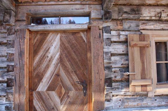Schladming Dachstein Zirbenhütte, Eingang