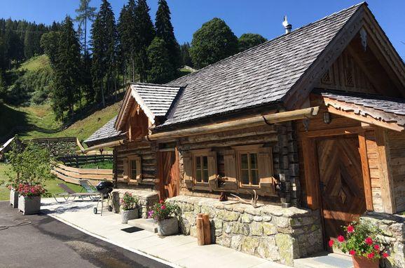 Summer, Oberprenner Zirbenhütte in Haus im Ennstal, Steiermark, Styria , Austria