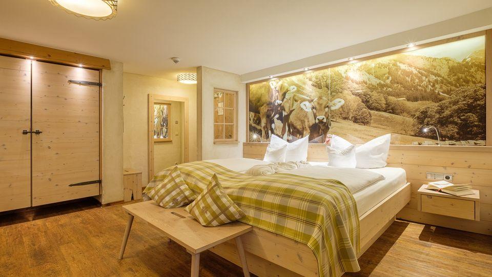 Milchwell®-Zimmer - Talseite mit Panoramablick