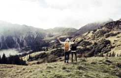 Biohotel Bergzeit: Wandern in den Tiroler Bergen - Natur- & Biohotel Bergzeit, Zöblen, Tirol, Österreich