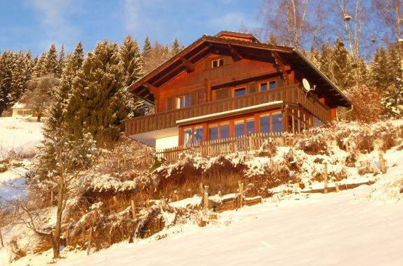 Winter, Sonnenhütte in Rieding - Koralpe, Lavanttal, Kärnten, Österreich