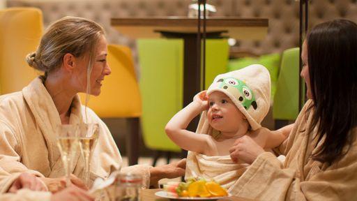 Sauna- und Badespaß für alle Kinder im Fips Kinder-Spa.