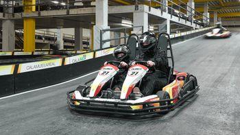Elektro-Kart-Racing im Hotel Doppelsitzer (nach Verfügbarkeit)