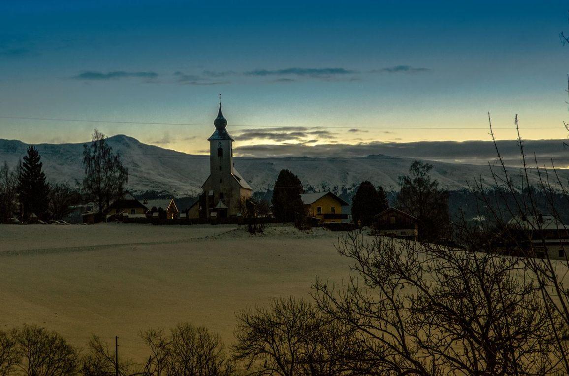 Puachmoar Hütte, Winter