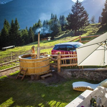 Hot Pot, Tröglesalm, Matrei in Osttirol, Tirol, Tirol, Österreich